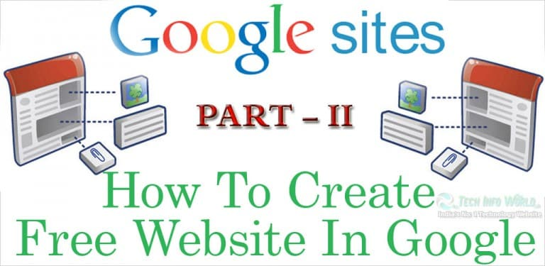 How to Personalize Your Home Page on Google Website Part–II