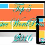Top 5 Responsive WordPress Themes 2016