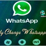 How Easily Change The Whatsapp Username