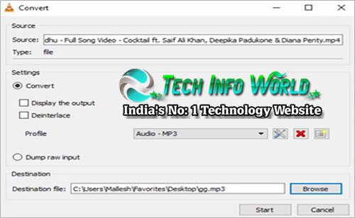 Convert Any Video into Audio