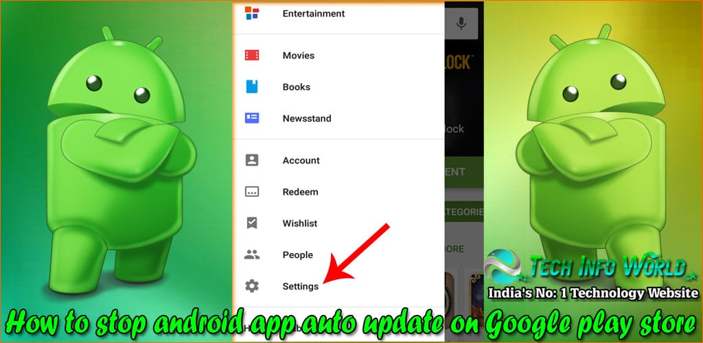 android app auto update on Google play store 1