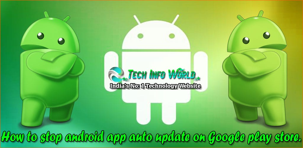 android app auto update on Google play store