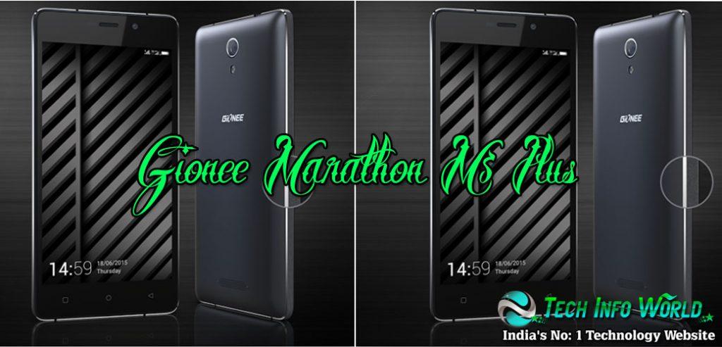Gionee Marathon M5 plus