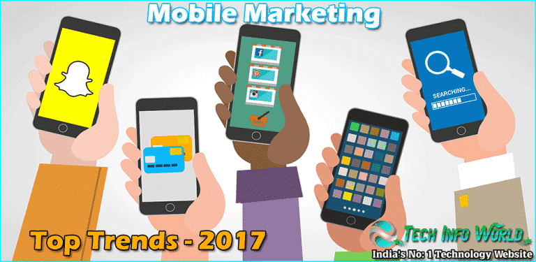 Top Mobile Marketing Trends for 2017