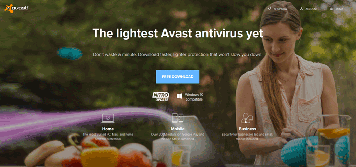 Security Software avast download