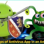 Security Steps of Antivirus App in an Android Phone