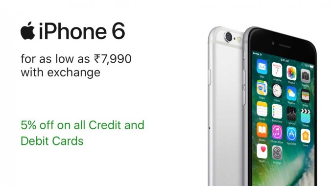 Apple Iphone Festival Offer on Flipkart
