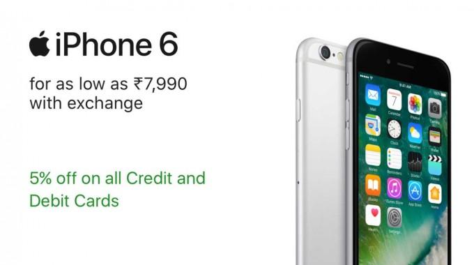 Apple Iphone Festival Offer on Flipkart