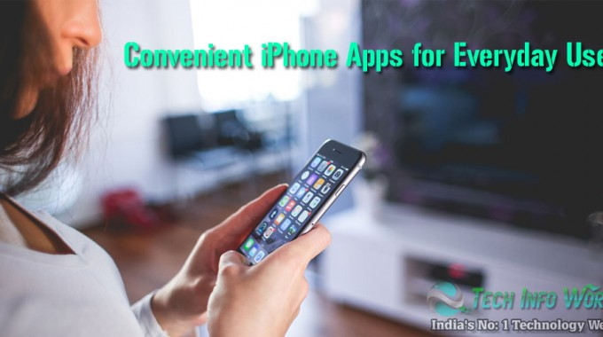 Convenient iPhone Apps for Everyday Use