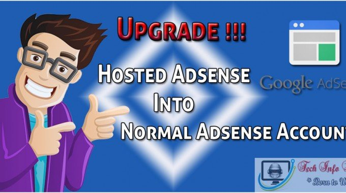 Upgrade Hosted AdSense Account to Normal AdSense Account [updated]