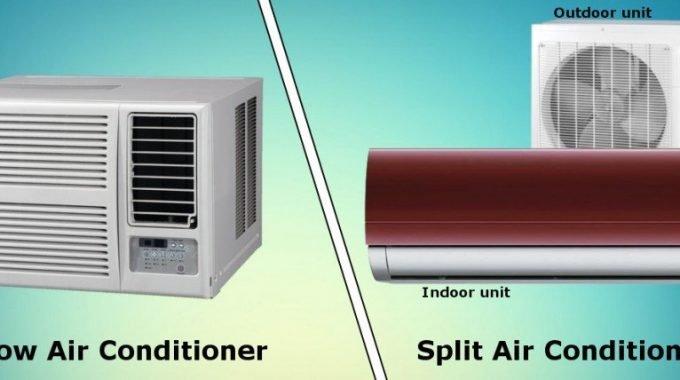 Window Air Conditioner vs. Split Air Conditioner