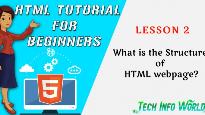 HTML Tutorial: What is the Structure of HTML webpage?